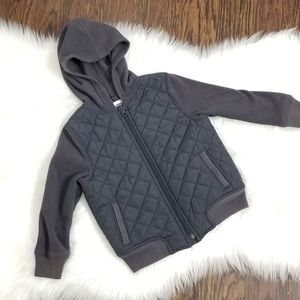 Old Navy | Gray Boy Sweater  Zipper Jacket size 4T